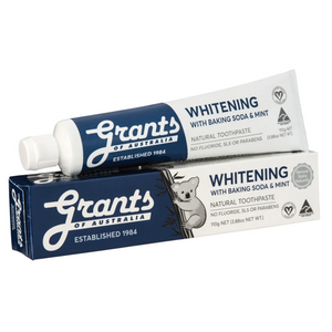 Grants of Australia Whitening Toothpaste with Baking Soda & Mint