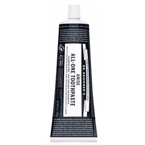 Dr Bronner's Anise All-One Toothpaste (140g)
