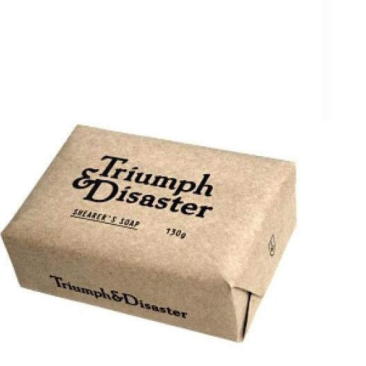 Triumph & Disaster - Shearers Soap - 130g -Mens Soap - Solander & Banks
