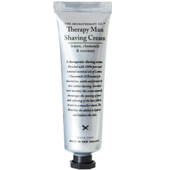 Lemon Chamomile and Rosemary Shaving Cream - 30ml | Therapy Man - The Aromatherapy Co