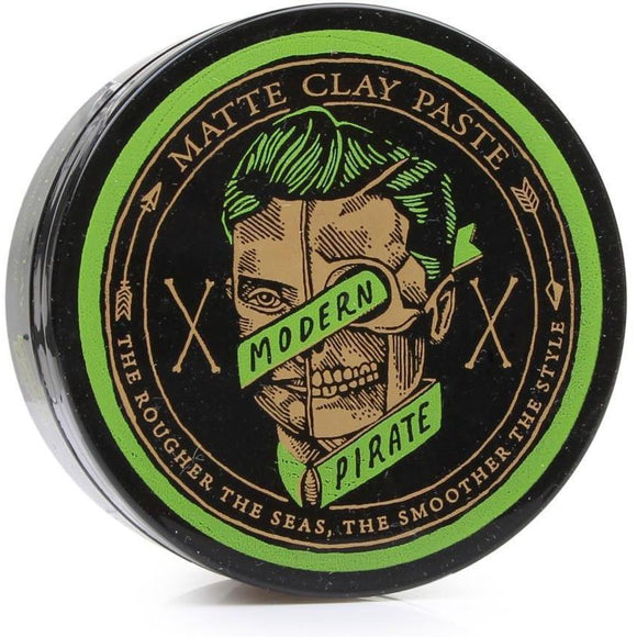 Modern Pirate Matte Clay Paste (95g) | Mens Hair Product - Solander & Banks