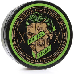 Modern Pirate Matte Clay Paste (95g) | Mens Hair Product