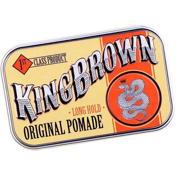 King Brown Original Pomade 71g Hair Product - Solander & Banks