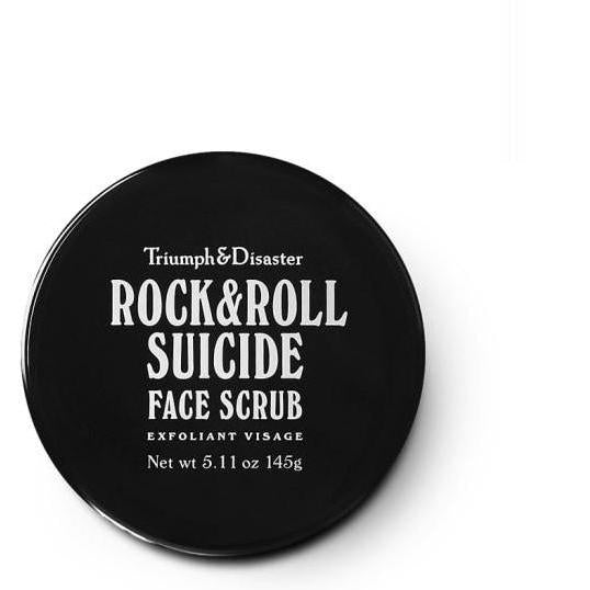 Triumph & Disaster - Rock & Roll Suicide Face Scrub - 145g - Volcanic Ash + Green Clay - Solander & Banks