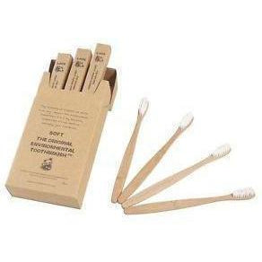 The Original Environmental Bamboo Toothbrush 12 Pack (Adult Soft Bristle) - Solander & Banks