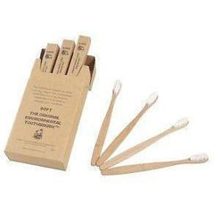 The Original Environmental Bamboo Toothbrush 12 Pack (Adult Soft Bristle)