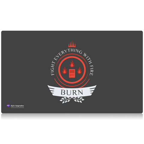 Burn Playmat by Epic Upgrades