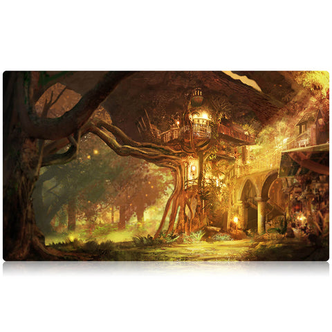 Forest Retreat Playmat by Joshua Calloway