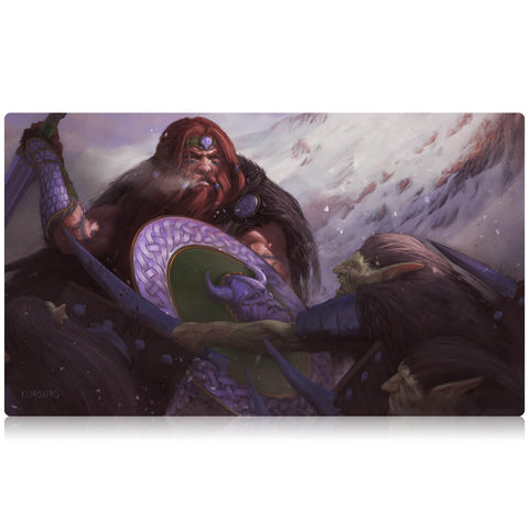 Wrath of a Dwarf Playmat