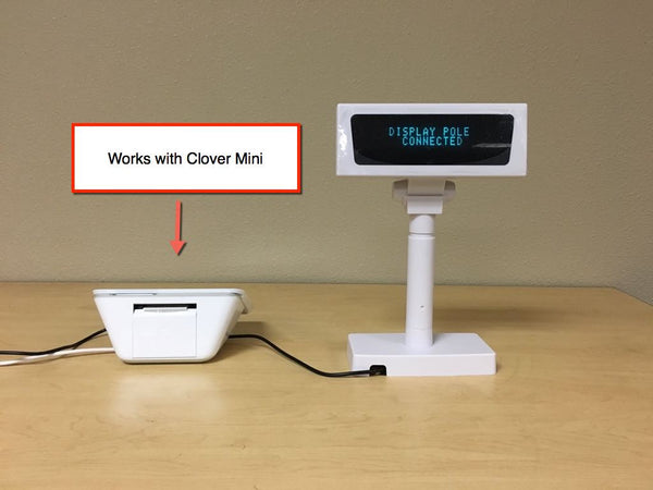Merchantech Display Pole for the Clover POS