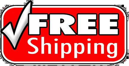 Fast and Free Shipping on all products