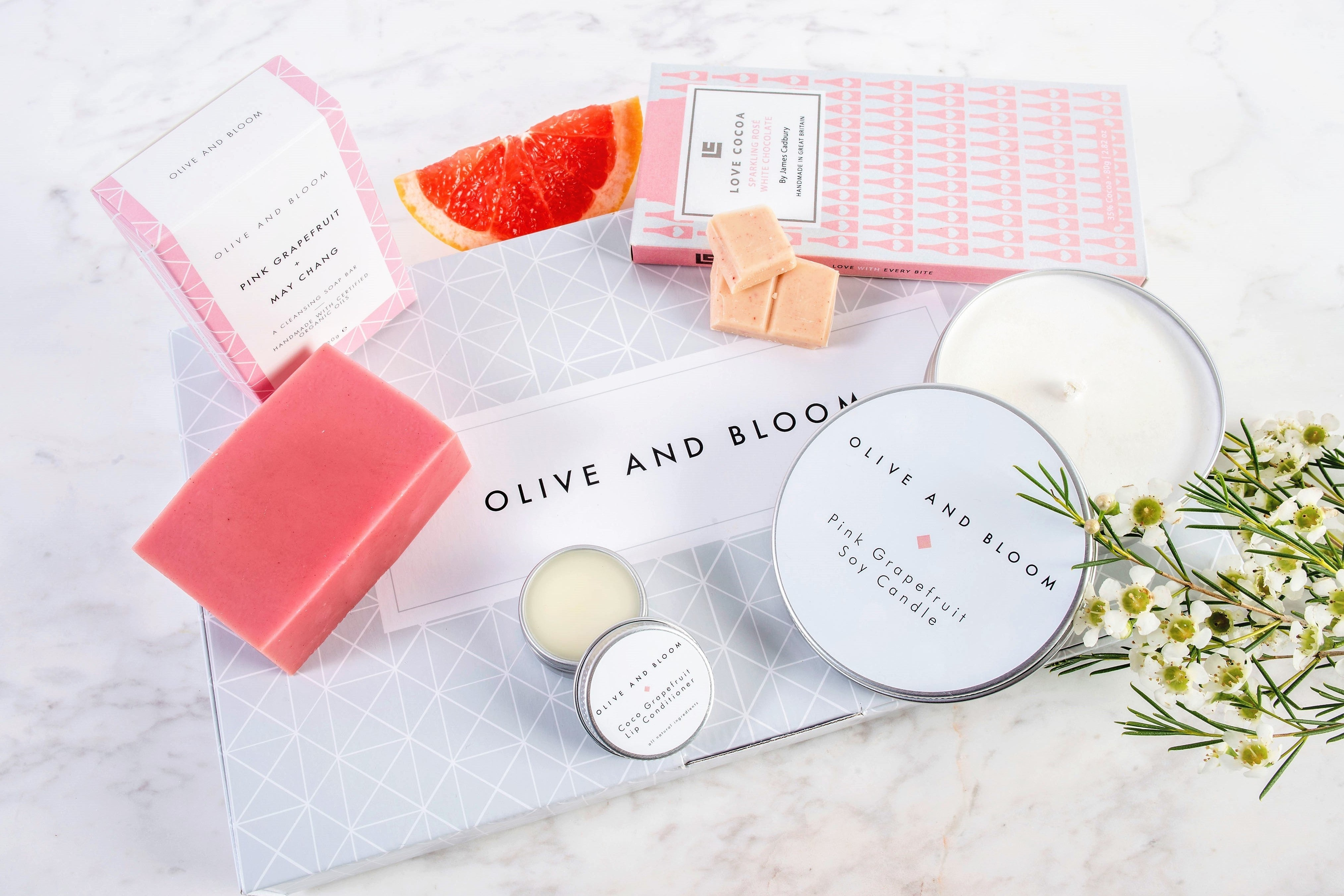 Pink Grapefruit Gift Set