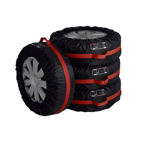 4Pc Car Tire Storage Bag/Tote - Vehicle Wheel Protector