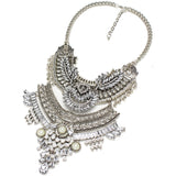 Latest-Exaggerated-Chokers-Fashion-Maxi-Necklaces-Statement-Necklaces-Pendants-Vintage-Carving-Alloy-Crystal-Pendant-Necklace
