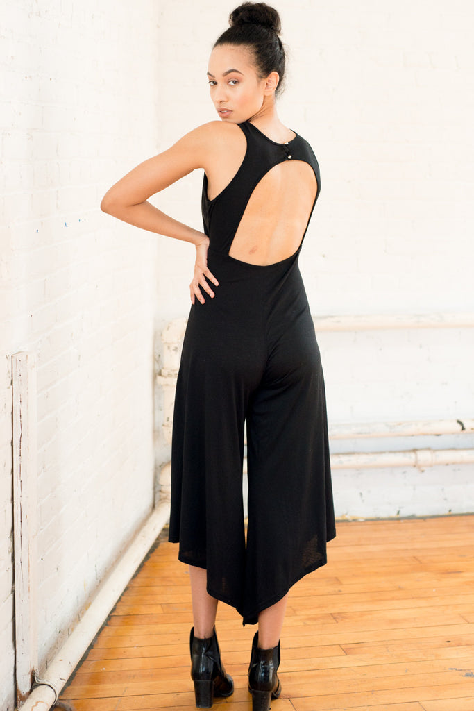Loose Fitting Pants Jumpsuit