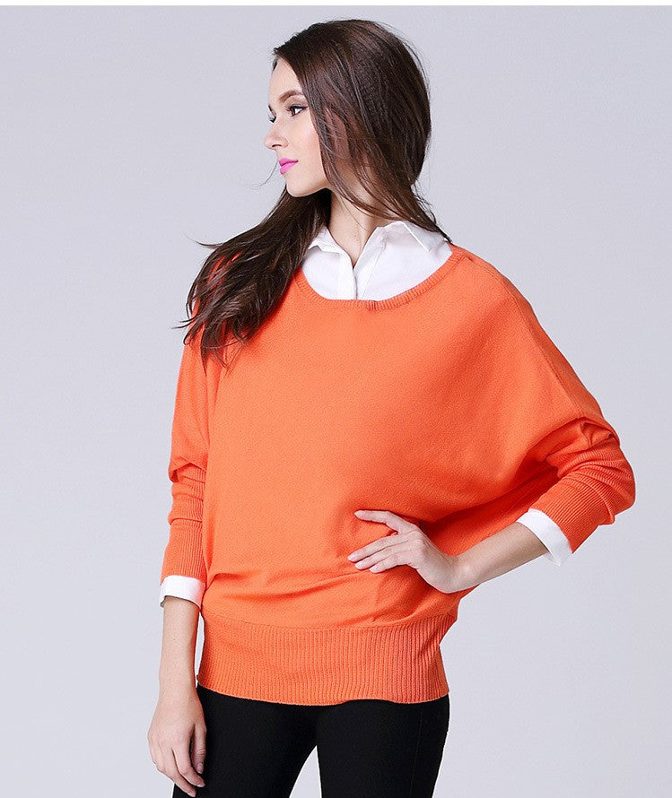 Pullover Batwing Sweater, Sweaters, Outerwear