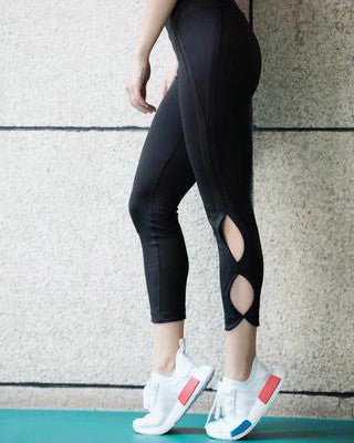 Cut Out Style Leggings