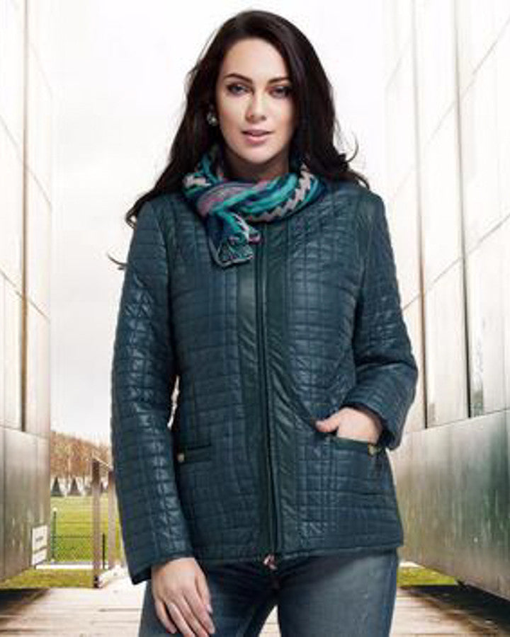 Plus size quilted style jacket, plus size jackets, Plus size spring jackets-kanndie