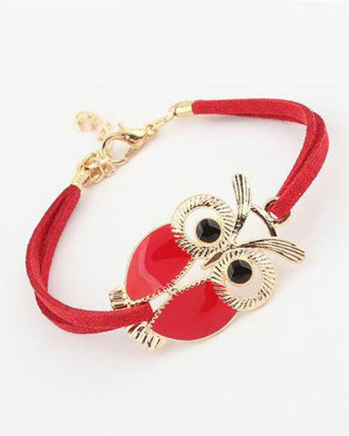 Brand-Design-Hot-Sale-Fashion-Luxury-Lovers-Vintage-Lovely-Totem-Owl-Bracelets-Jewelry-For-Women