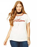White Fabulous Tee