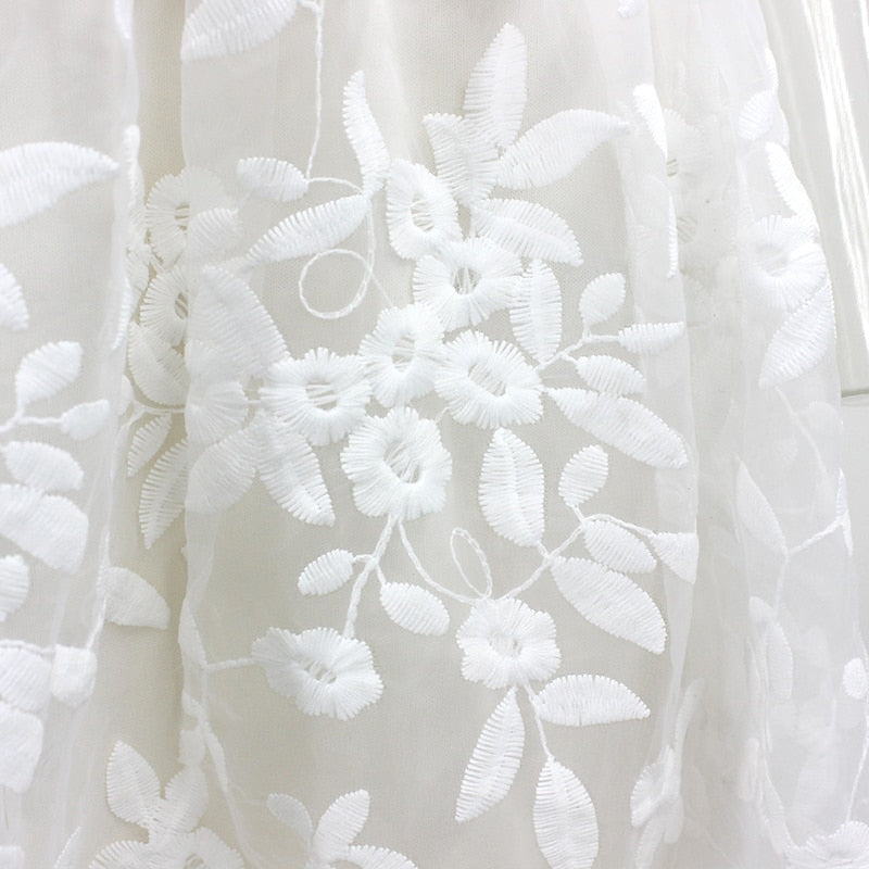 lace-embroidered-dress-spaghetti-straps-white-dress-v-neck