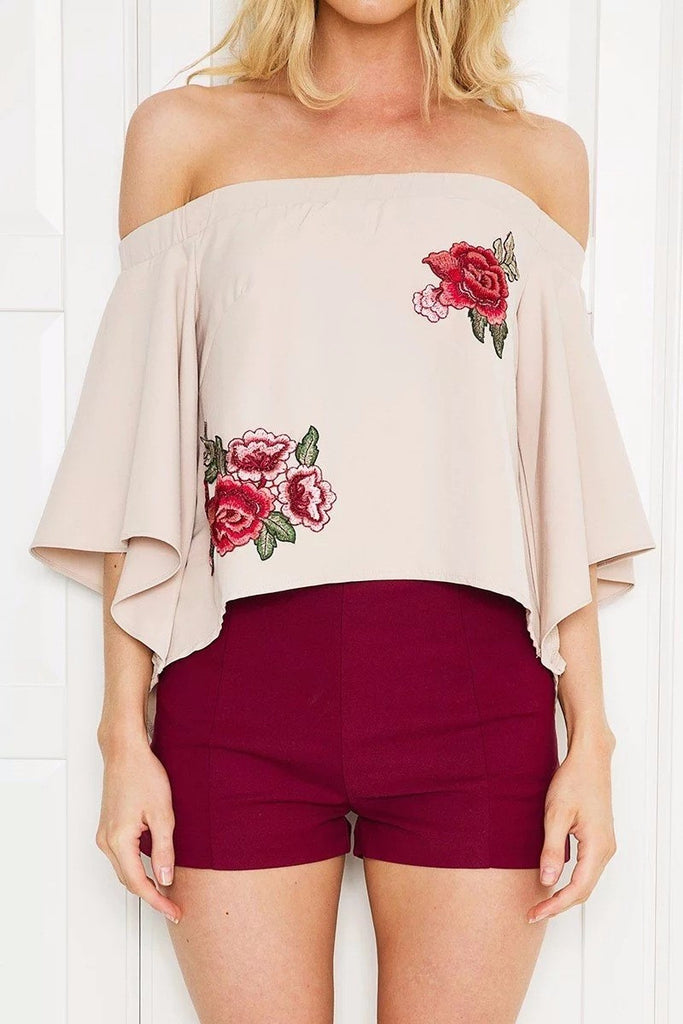 off-the-shoulder-ruffle-top-embroidered-rose-applique