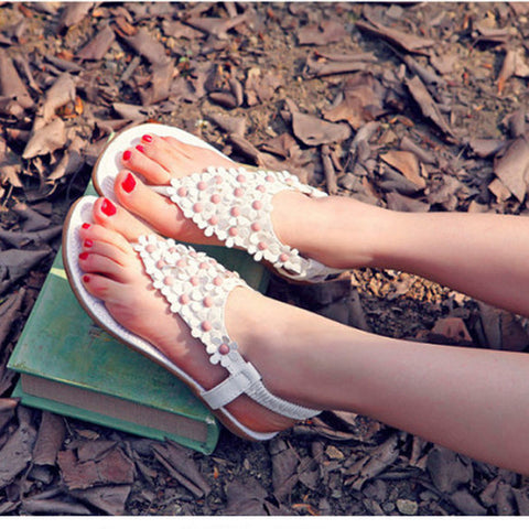 Embellished Block Heel Sandals