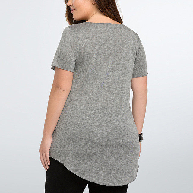 Sequin Lips Tee, Plus size tops, tops, Plus size tops-kanndie