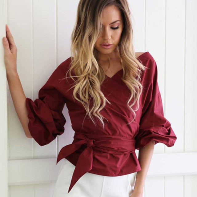 Off the shoulder Puff Sleeve Top, Off the shoulder top, Tops, Kanndie, Puff sleeve Top