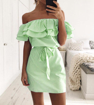 ruffles-striped-summer-mini-dress-off-the-shoulders-kanndie