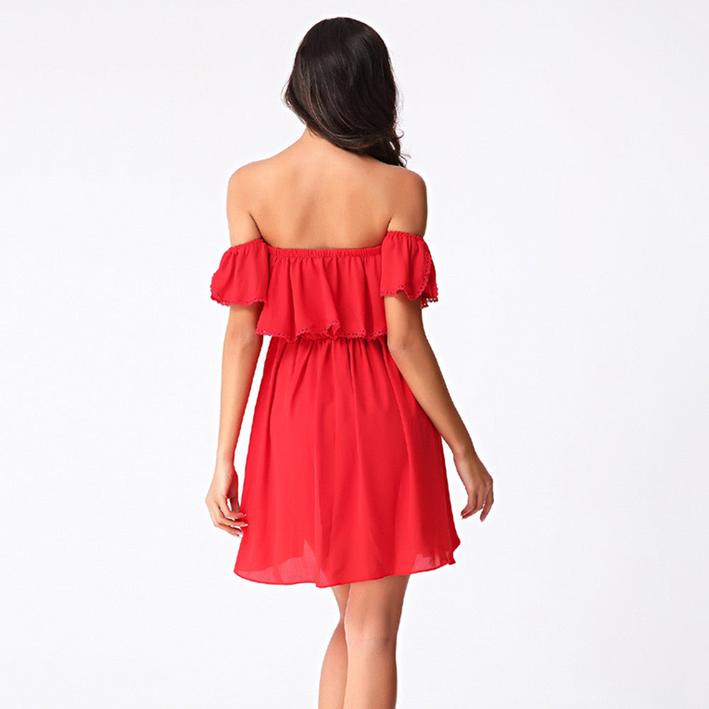 Red Sweet Summer Passion Dress