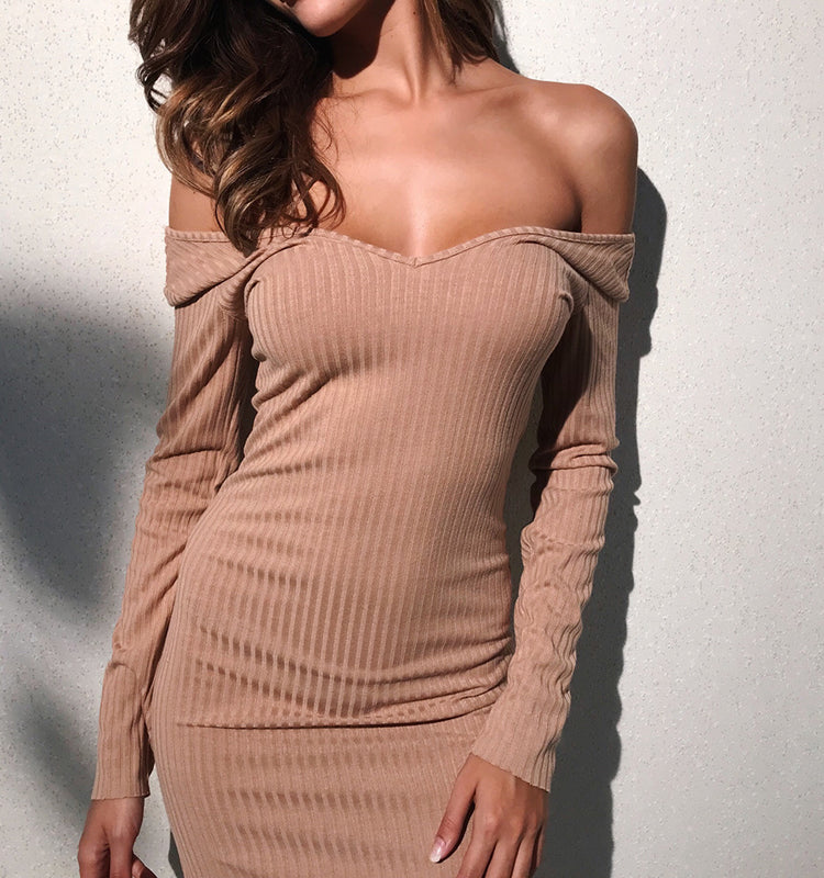 sweater-dress-ribbed-sweater-long-sleeve-sweater-knitted-dress