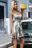 surplice-dress-wrapped-around-dress-cami-straps-dress-plunging-vneckline-summer-dress-spring-dress-metallic-dress-ruffles-spaghetti-straps-kanndie