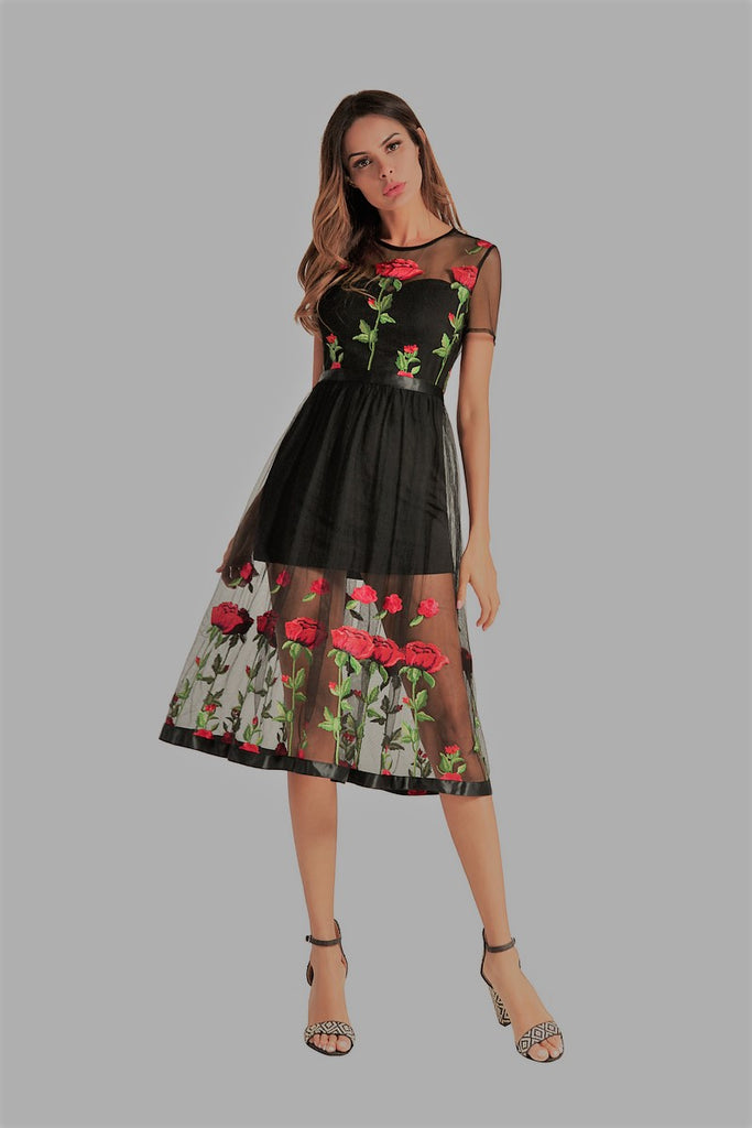 rose-embroidered-dress-rose-applique-dress-black-dress-little-black-dress-datenight-dress-graphic-embroidered-dress-spring-dress-summer-dress-kanndie