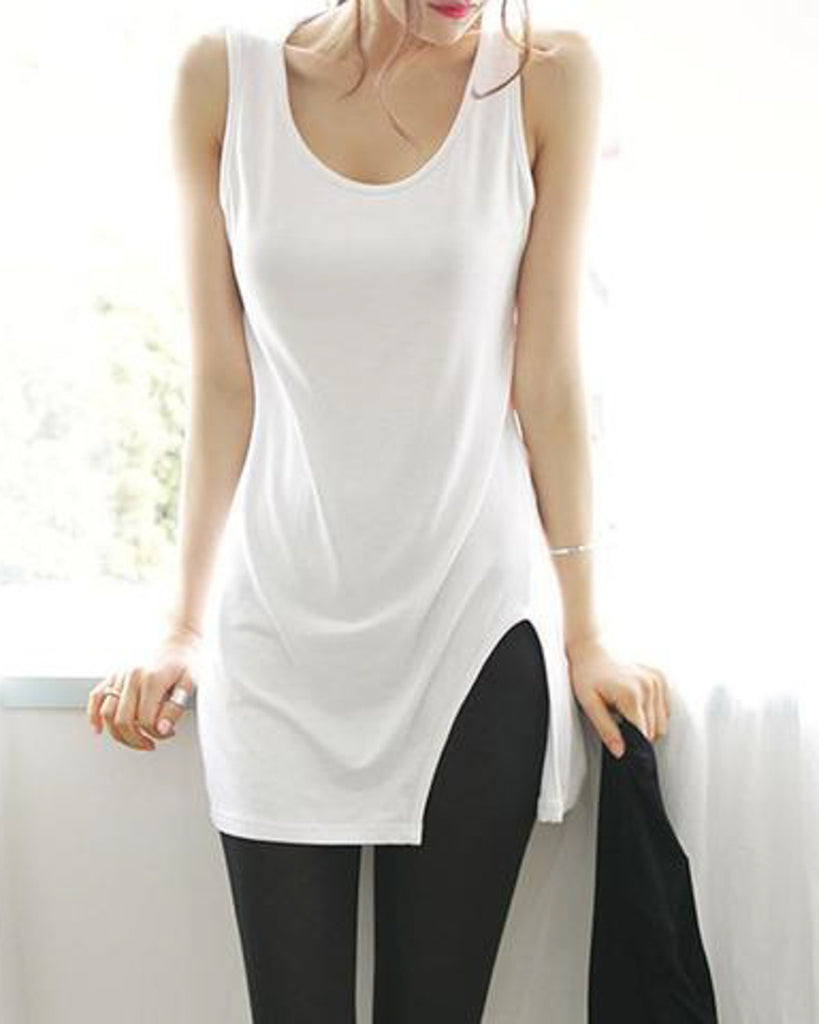 Side Slit Tank Top