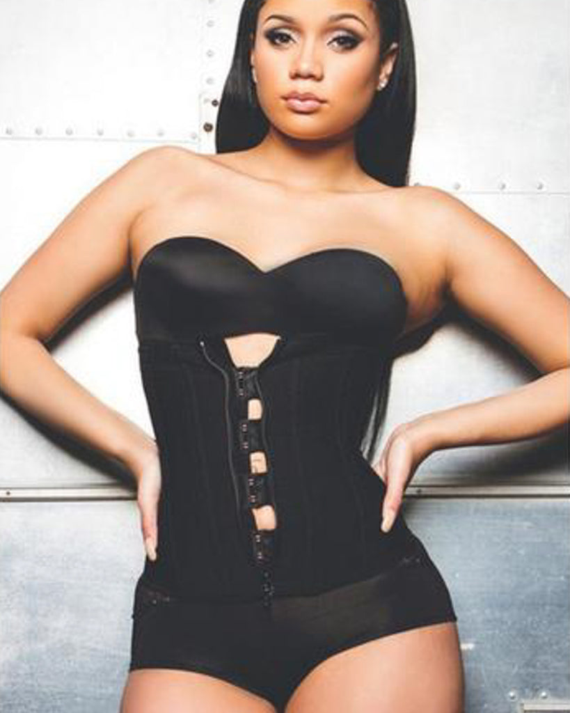 Hook-Zipper-Rubber-Latex-Waist-Trainer-Sexy-Corsets-and-Bustiers-Waist-Cincher-Corset-Tops-Slimming-waist-trainer-kanndie