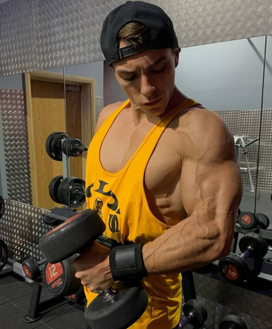dumbell curls for big arms
