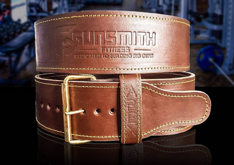 Gunsmith fitness single prong belt