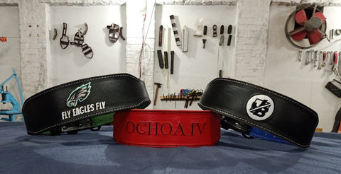gunsmith fitness custom olympic belts