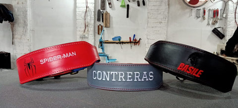 best personalised lifting belts for the gym