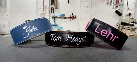 build your own gym lifting belt