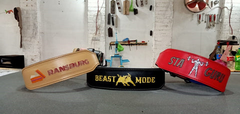 Design your own lifting belt