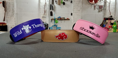 Personalised lifting belts