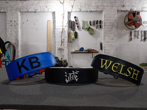 design your own powerlifting belt