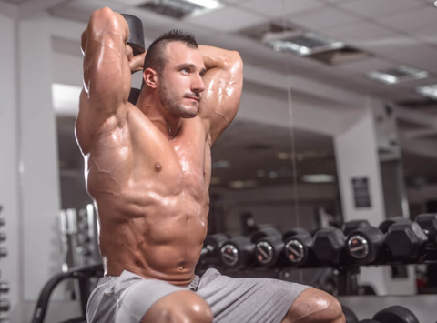 gunsmith fitness tricep extensions supersets