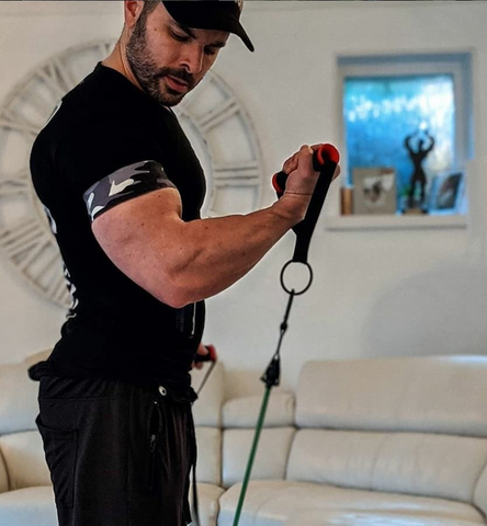 BFR training for big muscles