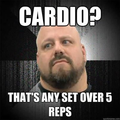 powerlifting and cardio?