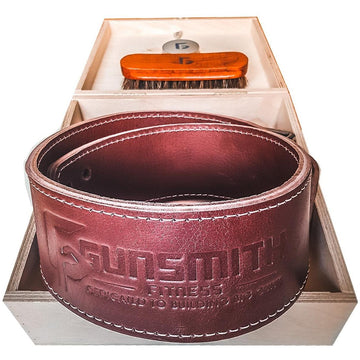 leather detonator lever lifting belt box