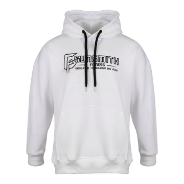 Gunsmith Apex Oversized Hoody - White