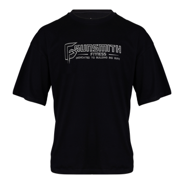 Gunsmith Apex Oversized T Shirt - Black